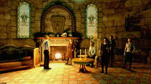 slytherin common room from playstation u0027s pottermore slytherin