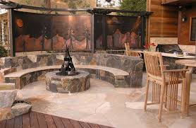 Custom Fire Pit by Fire Pit Novato Ca Photo Gallery Landscaping Network