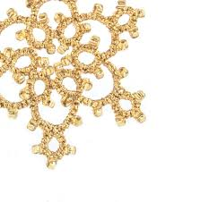 gold christmas large gold beaded christmas tree decoration on luulla