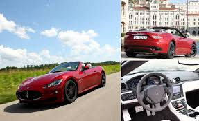 red maserati convertible 2012 maserati granturismo convertible sport first drive review