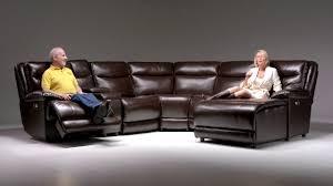 Cheap Recliner Sofas Supernova Power Reclining Sectional Bob S Discount Furniture