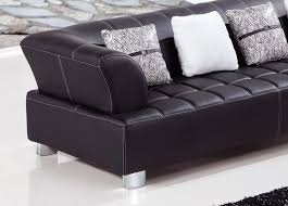 Black Leather Sectional Sofa Star Leather Sectional Sofa Set