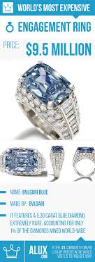 world s most expensive earrings most expensive engagement ring in the world bvlgari blue alux