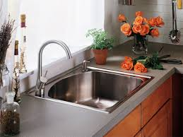 kitchen sink and faucet ideas admirable steel countertop with kitchen sink faucet in modern