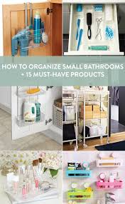 15 solutions to small bathroom organization woes curbly