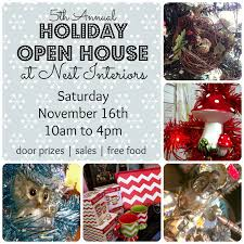 Christmas Open House Ideas by Cottage Nest Crafting A Handmade Life November 2013
