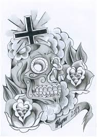 day of the dead design by brad rayner designs on deviantart