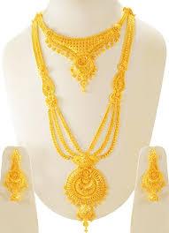 bridal necklace set gold images 22k t gold bridal necklace set stbr23705 sets necklace jpg