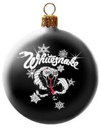 whitesnake snowy snake black ornament revolve