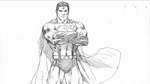 superman pencil sketches pencil drawings wallpapers drawing