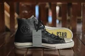 Jual Sepatu Converse Varvatos converse varvatos speciality high black leather sneaker