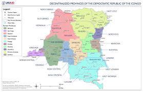 Republic Of Congo Map The Democratic Republic Of Congo Might Break Up Its Provinces