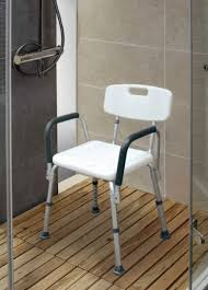 Bathroom Shower Chair Legs Adjustable Bathroom Shower Chair With Handle And Backrest