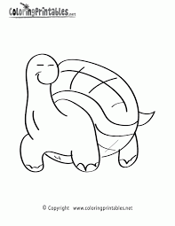 turtle template printable kids coloring
