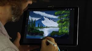 bob ross tribute shows the joy of painting on ipad pro cult of mac