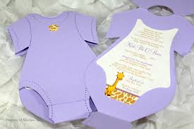 onesie baby shower invitations afoodaffair me