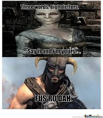 Meme Skyrim - skyrim memes video games amino
