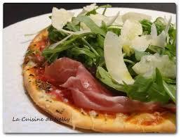 la cuisine de nelly pizza san daniele roquette parmesan la cuisine de nelly