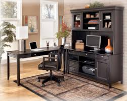 Desk Sets For Home Office Black Office Furniture The Sleek Design Of The Contemporary Styled