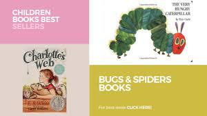 bugs u0026 spiders books children books best sellers youtube