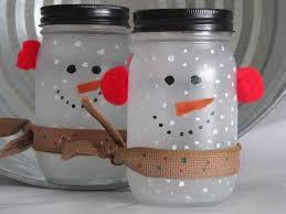 frosted the mason jar snowman crafts pinterest snowman