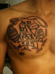 25 wonderful gangster tattoos creativefan