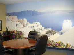 mediterranean murals greek scene wallpaper santorini wallpaper mural