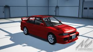 mitsubishi lancer evolution fast and furious cars list assetto corsa database