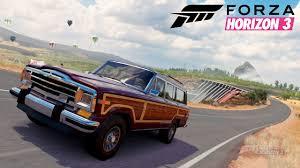 jeep grand 3 1991 jeep grand wagoneer forzavista probefahrt forza horizon