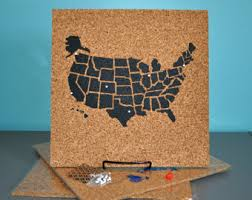 us map fillable travel map etsy