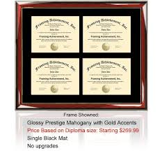 diploma frame size four certificate frames and college diploma frame holder degree