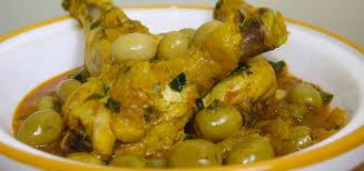 recette de cuisine poulet recette tajine de poulet aux olives recette marocaine