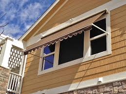 Hand Crank Retractable Awnings Robusta Heavy Duty Retractable Window Awning