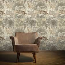 wall vintage maps pattern antique motif mural wallpaper w10mmaps01
