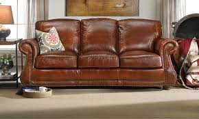 brandy leather sofa the dump america u0027s furniture outlet
