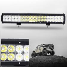 30 led light bar combo 20 inch off road led light bar cree led 126w 30 degree spot 60