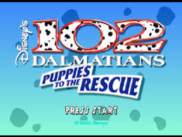 play 102 dalmatians puppies rescue sony playstation game