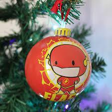 dc comics u0027chibbi u0027 baubles christmas tree ornament pack numskull