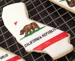 Califirnia Flag California Flag Cookie Cookie Connection