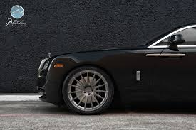roll royce wraith on rims modulare wheels rolls royce wraith 22