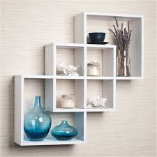 lovely decorative shelves for living room