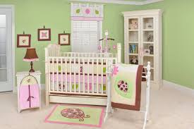 girls nursery bedding sets baby nursery charming light pink green baby room decoration using