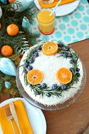 Carrot Decoration For Cake Carrot Cake With Natural Wreath Decoration Festive Holiday