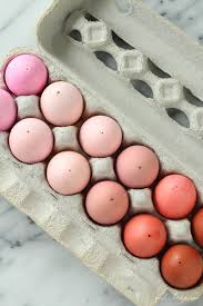 pink easter eggs monochromatic easter eggs girl inspired