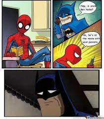 Memes De Batman - spiderman batman by alifggg meme center