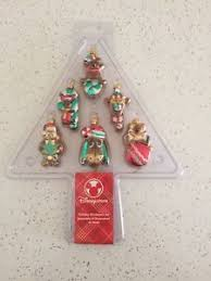 Glass Christmas Ornament Sets - disney store winnie the pooh u0026 friends glass christmas ornaments