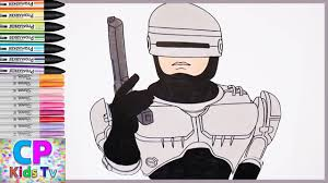robocop coloring pages for kids robocop coloring pages