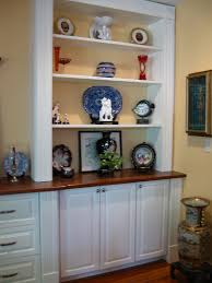 indigo woodworks custom built in dining room