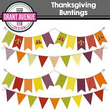 grant avenue design thanksgiving buntings