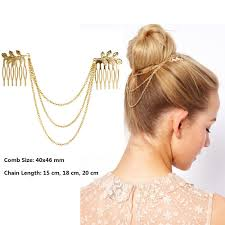 hair accessory gold leaves headband promotion shop for promotional gold leaves